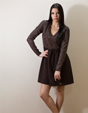 Рокля Brown Dress