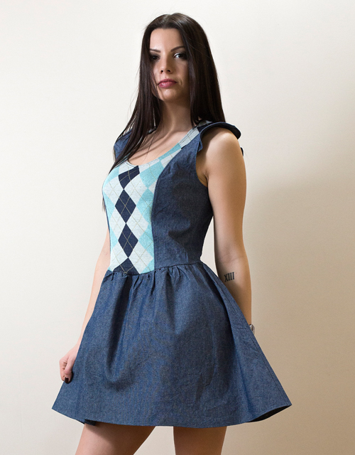 Рокля Denim Dress